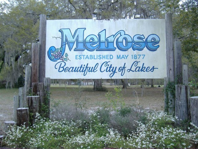 Melrose, FL: The Blue Spot in the Red State
